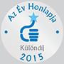 Az Év Honlapja Különdíj 2015